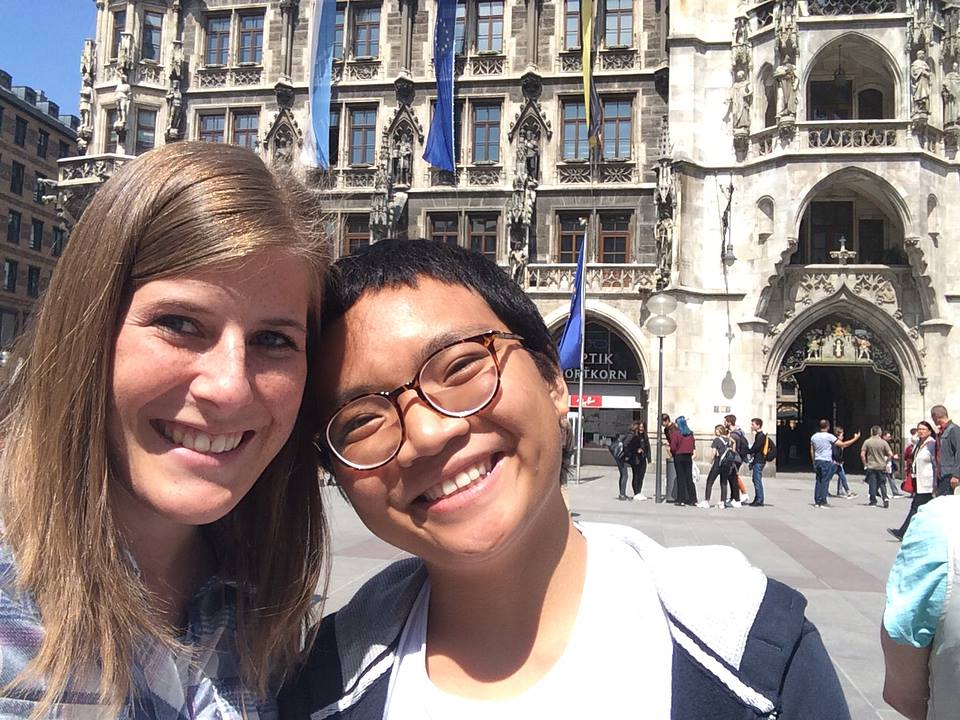 From Liechtenstein to Munich to Meet My Chrissy - Dang Nguyen - Spring Exchange Sem of AY 2017-2018