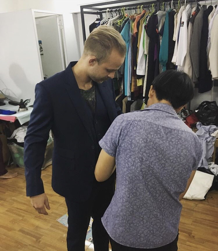 Getting a Suit tailored in Vietnam