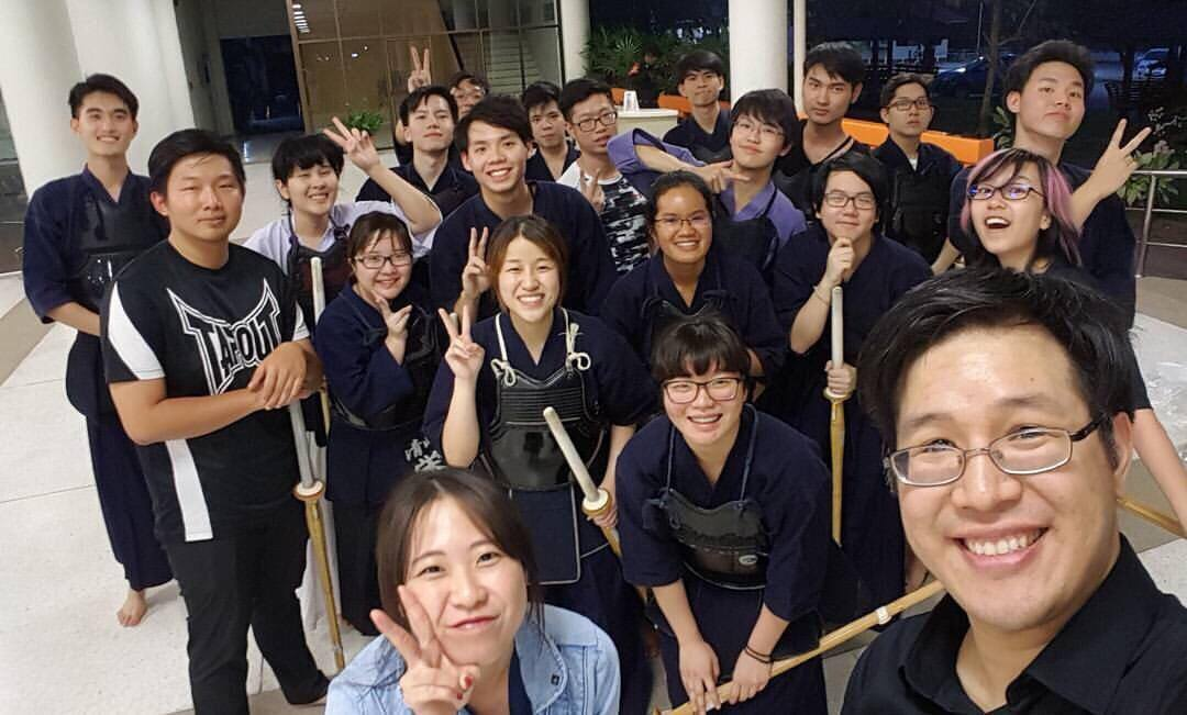 Kendo Class - Dat Le - Spring Exchange Sem of AY 2016-2017