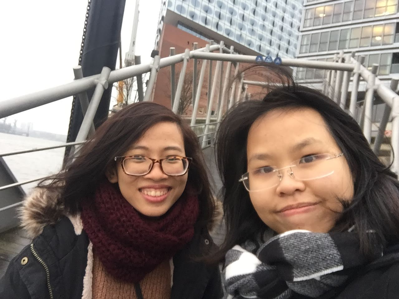 Reunite with Nhan Vo in Reutlingen - Ha Nguyen - Winter Exchange Sem 2018-2019