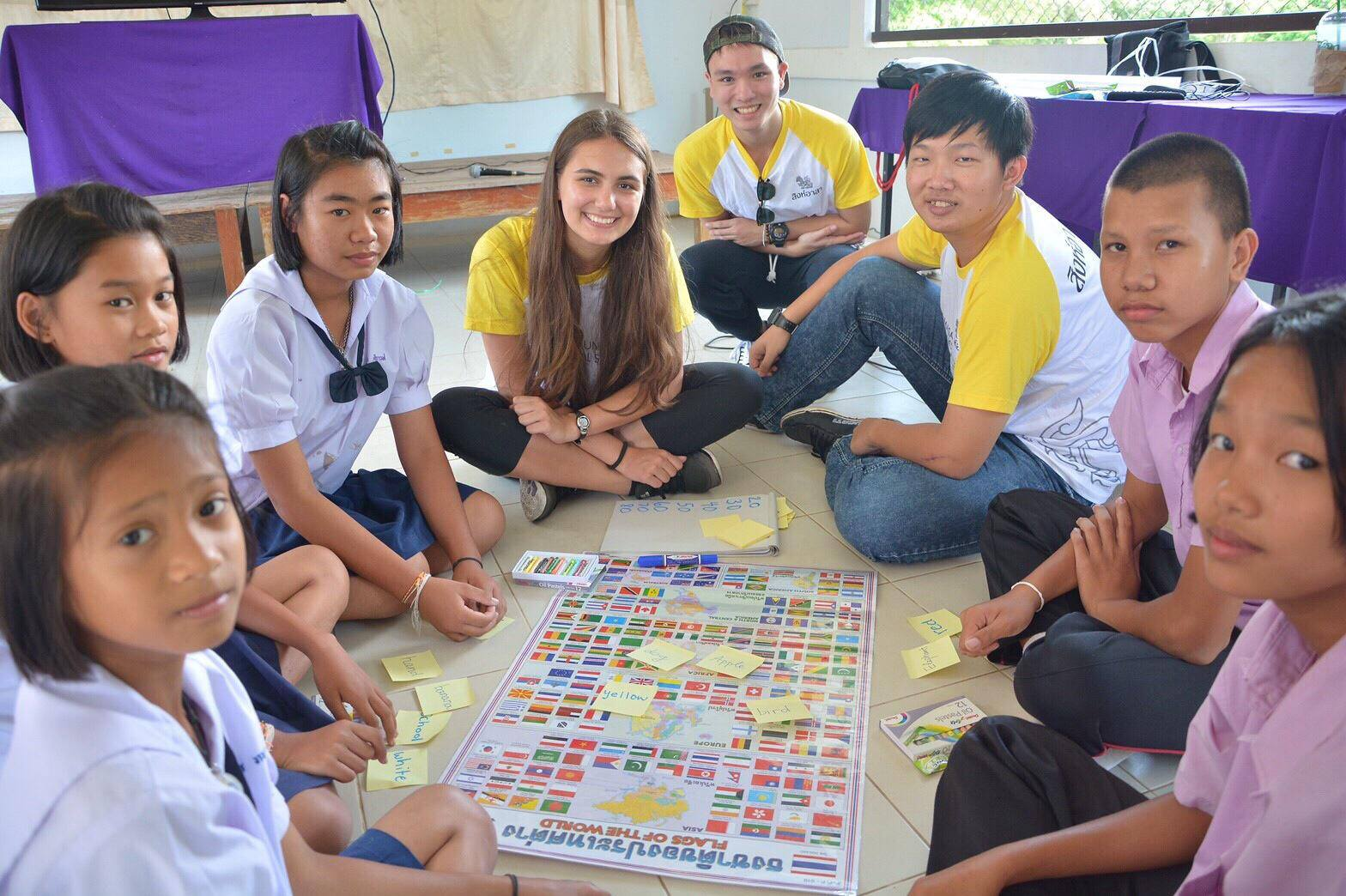 Teaching English for Thai Students - Dat Le - Spring Exchange Sem of AY 2016-2017