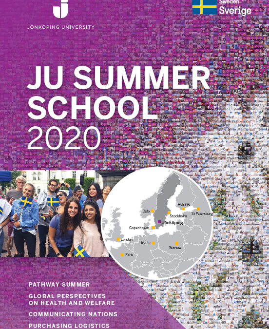 JONKOPING UNIVERSITY SUMMER SCHOOL 2020