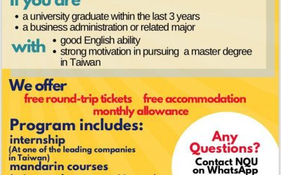 """Taiwan Experience Education Program"" (TEEP) 2020"