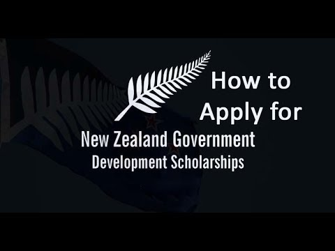 New Zealand Development Scholarship for the 2021 Academic Year