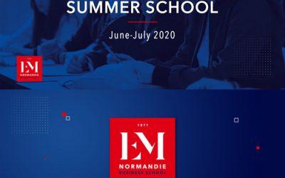 SUMMER SCHOOL 2020 at EM NORMANDIE, FRANCE