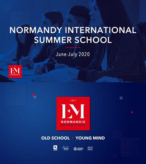 SUMMER SCHOOL 2020 at EM NORMANDIE, FRANCE