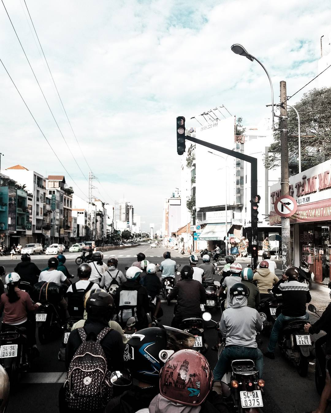 Daily Scenes in Ho Chi Minh City