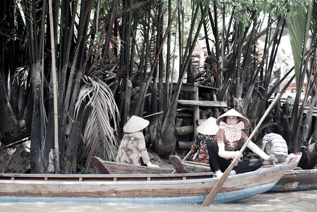 Lives on Mekong Delta Rivers by Dario