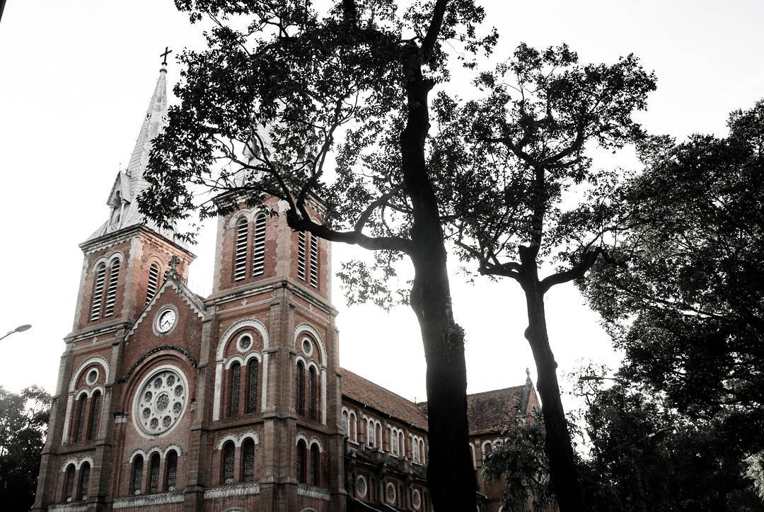 Notre Dame Cathedral Ho Chi Minh by Dario