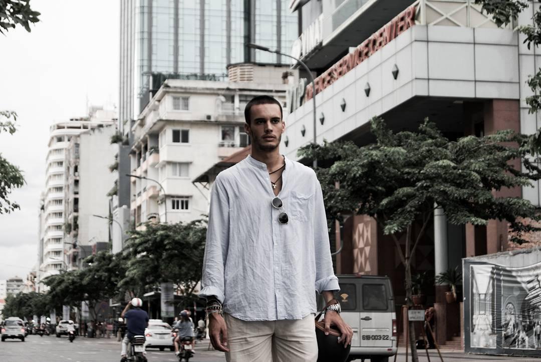 Saigon morning by Dario