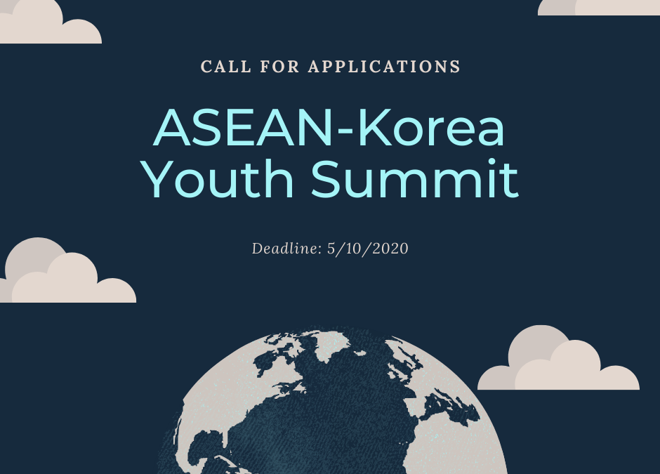 Call for Applications for The ASEAN-Korea Youth Summit