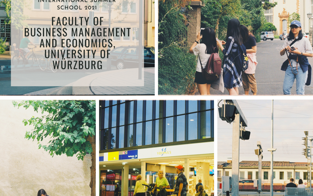 INTERNATIONAL SUMMER SCHOOLS 2021 – FACULTY OF BUSINESS MANAGEMENT AND ECONOMICS, UNIVERSITY OF WÜRZBURG