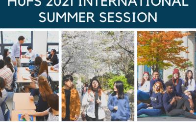 HUFS 2021 INTERNATIONAL SUMMER SESSION, KOREA